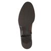 Damskie skórzane kozaki bata, brązowy, 594-3586 - 26