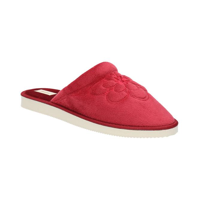 Kapcie damskie bata, czerwony, 579-5611 - 13