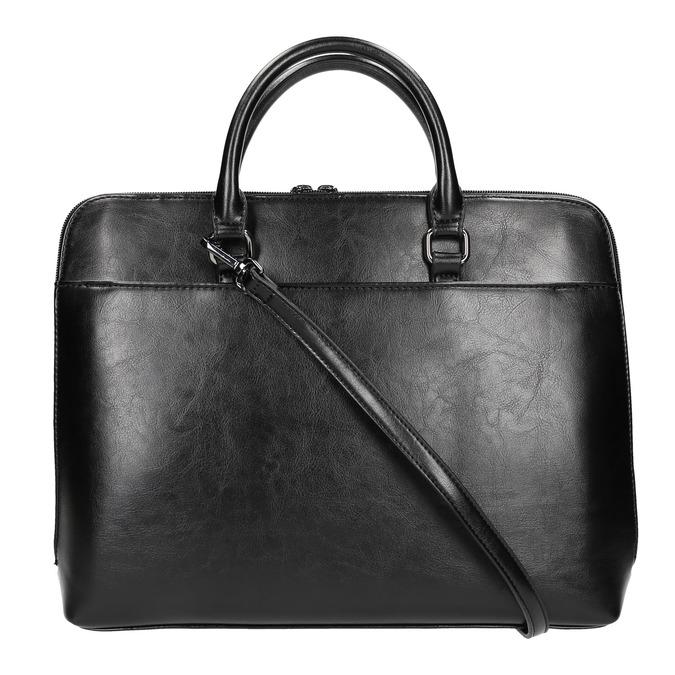 Elegancka torebka do noszenia w ręce bata, czarny, 961-6882 - 19