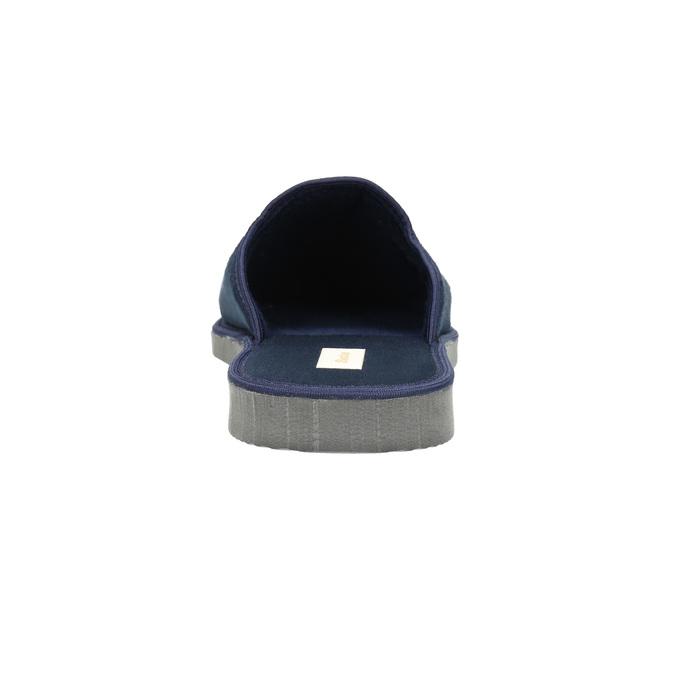 Kapcie męskie zpełnymi noskami bata, niebieski, 879-9605 - 17
