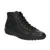 Trampki damskie za kostkę bata, czarny, 594-6659 - 13