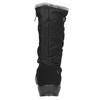 Czarne śniegowce damskie zfuterkiem weinbrenner, czarny, 599-6612 - 17