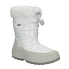Białe śniegowce damskie zfuterkiem weinbrenner, biały, 591-1617 - 13