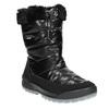 Czarne śniegowce zfuterkiem weinbrenner, czarny, 591-6617 - 13