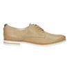 Nieformalne skórzane półbuty damskie bata, beżowy, 526-3626 - 15