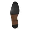 Skórzane półbuty męskie ze zdobieniami bata, brązowy, 826-3821 - 26