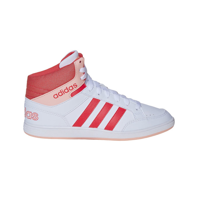 Trampki dziewczęce za kostkę adidas, biały, 401-5253 - 15