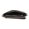 Różowa torebka typu crossbody zperforowaną klapą bata, różowy, 961-5709 - 15