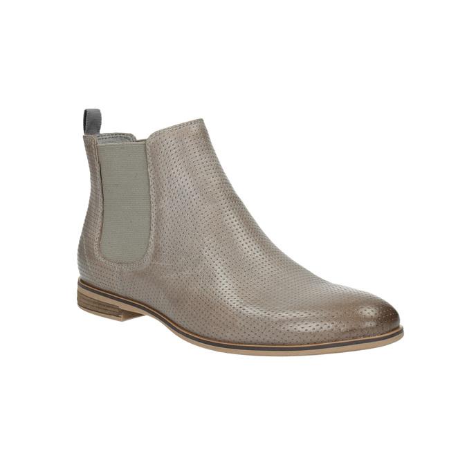 Damskie buty wstylu Chelsea bata, brązowy, 596-2644 - 13