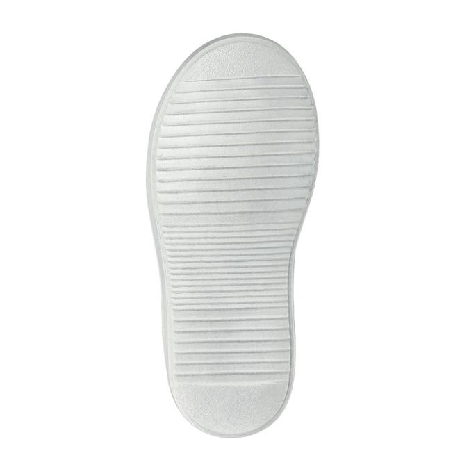 Dziecięce skórzane buty sportowe mini-b, niebieski, 226-9600 - 26