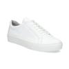 Białe skórzane trampki damskie vagabond, biały, 624-1019 - 13