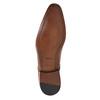 Półbuty męskie ze skóry bata, brązowy, 826-3836 - 26