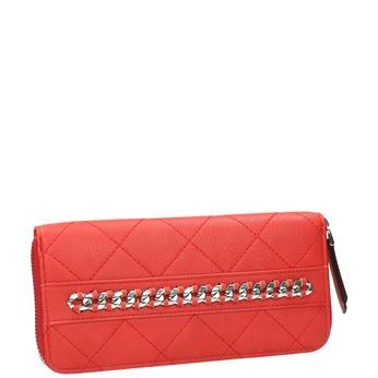 Czerwony portfel złańcuszkiem bata, czerwony, 941-5146 - 13