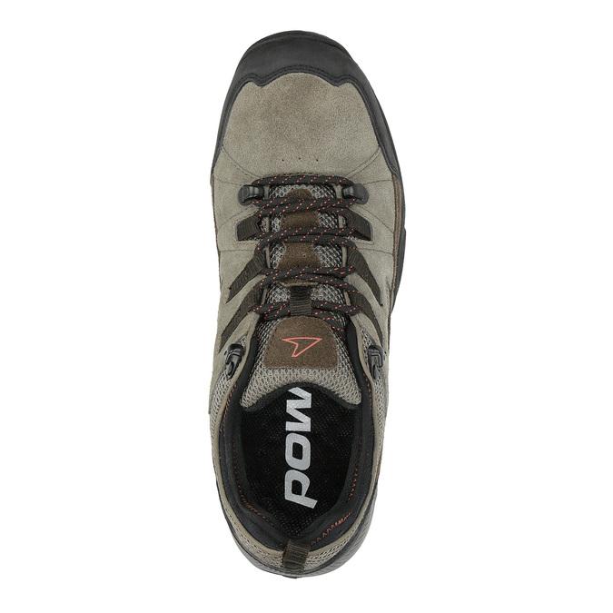 Skórzane buty w stylu outdoor power, brązowy, 803-4118 - 19