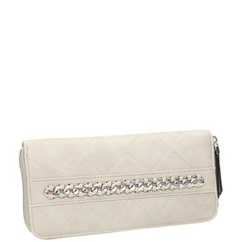 Pikowany portfel damski bata, beżowy, 941-8146 - 13