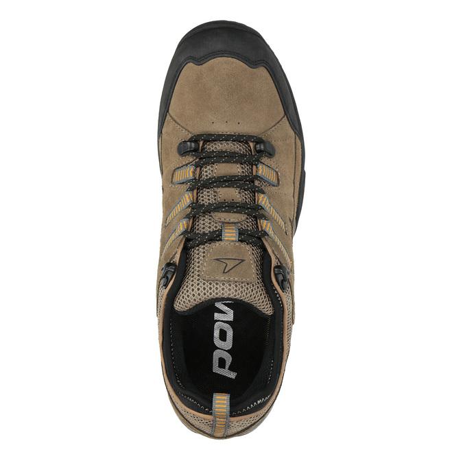 Skórzane buty w stylu outdoor power, brązowy, 803-3118 - 19