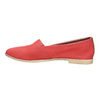 Czerwone slip-on ze skóry bata, czerwony, 516-5602 - 26