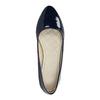 Damskie lakierowane baleriny bata, niebieski, 521-2602 - 19