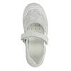 Baleriny dziecięce zpaskiem na podbiciu mini-b, biały, 421-1605 - 19