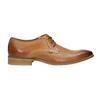 Skórzane półbuty typu angielki bata, brązowy, 826-3802 - 15