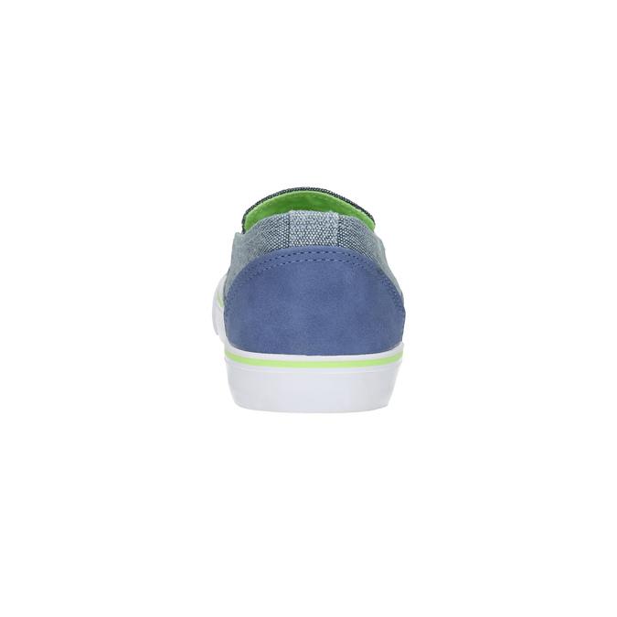 Slip-on dziecięce north-star-junior, niebieski, 419-9612 - 17