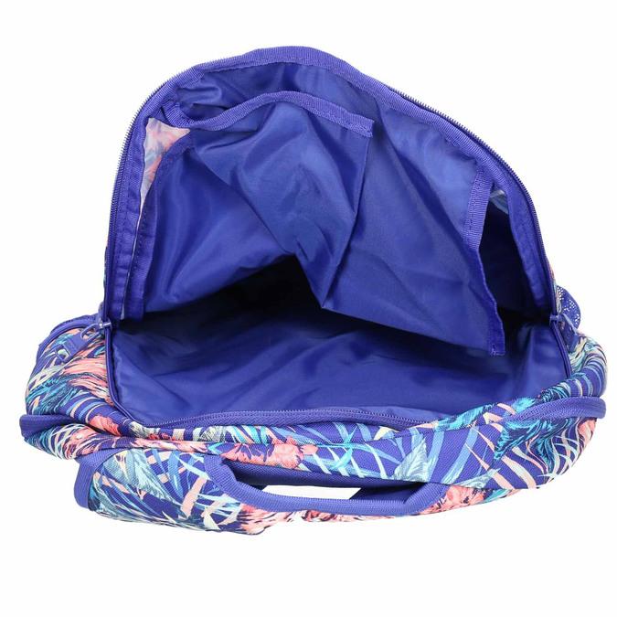 Plecak wkolorowy deseń roxy, fioletowy, 969-9071 - 15