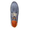 Zamszowe buty za kostkę weinbrenner, niebieski, 843-9625 - 19
