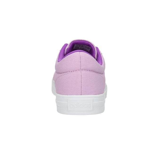 Fioletowe trampki dziewczęce adidas, fioletowy, 489-9119 - 17