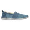 Niebieskie slip-on ze skóry weinbrenner, niebieski, 513-9263 - 15
