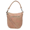 Skórzana torba damska wstylu hobo fredsbruder, beżowy, 963-5030 - 26