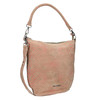 Skórzana torba damska wstylu hobo fredsbruder, beżowy, 963-5030 - 13