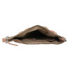 Skórzana torba damska wstylu hobo fredsbruder, beżowy, 963-5030 - 15