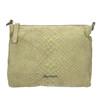 Skórzana torba damska typu crossbody fredsbruder, zielony, 963-7031 - 19