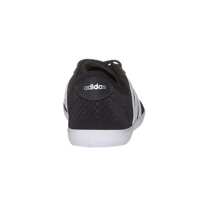 Damskie oddychające buty sportowe adidas, czarny, 509-6489 - 17