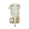 Sznurowane sandały na obcasach insolia, biały, 769-1613 - 17