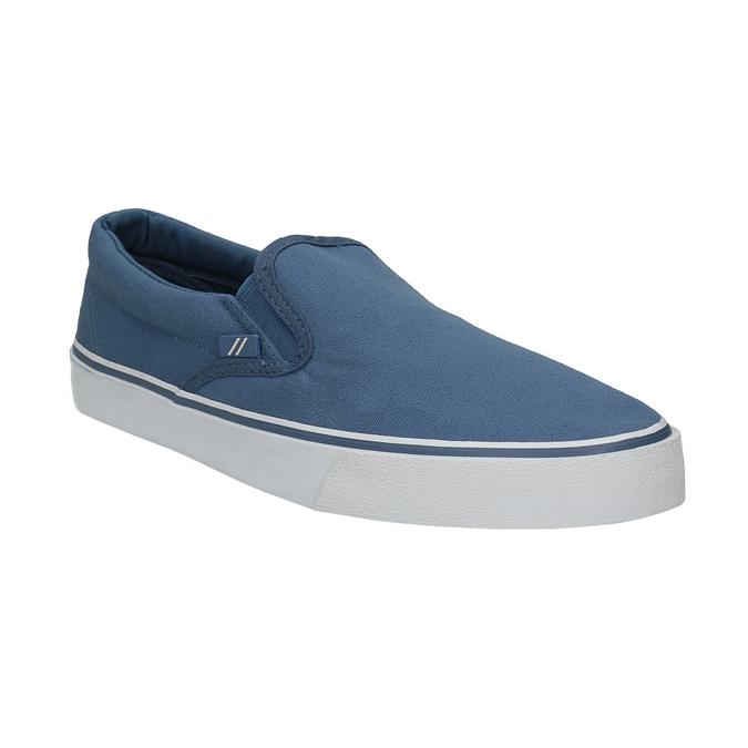 Niebieskie obuwie typu slip-on north-star, niebieski, 889-9286 - 13