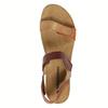 Skórzane sandały damskie weinbrenner, brązowy, 566-4630 - 19