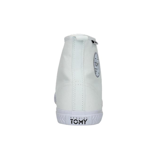Trampki damskie za kostkę tomy-takkies, biały, 589-1172 - 17