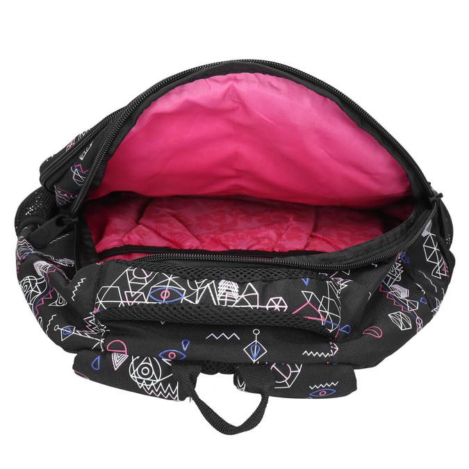 Plecak szkolny wdeseń bagmaster, czarny, 969-6650 - 15