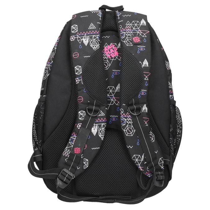 Plecak szkolny wdeseń bagmaster, czarny, 969-6650 - 19