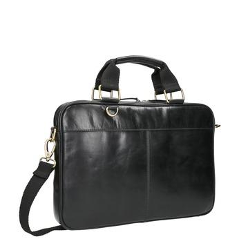 Skórzana torba unisex bata, czarny, 964-6204 - 13