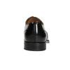Czarne skórzane półbuty typu oksfordy bata, czarny, 826-6671 - 16