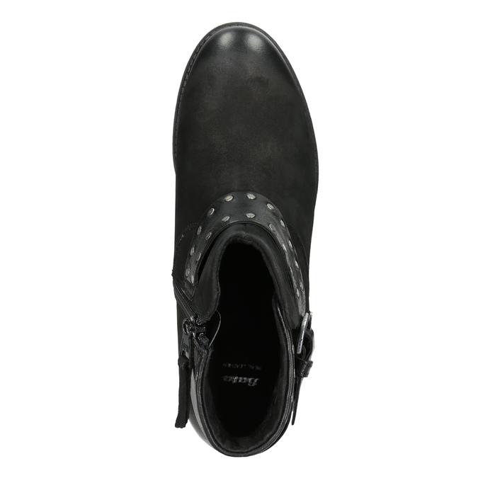 Botki damskie znapami bata, czarny, 596-6658 - 15