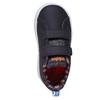 Trampki dziecięce znadrukiem adidas, czarny, 101-6133 - 19