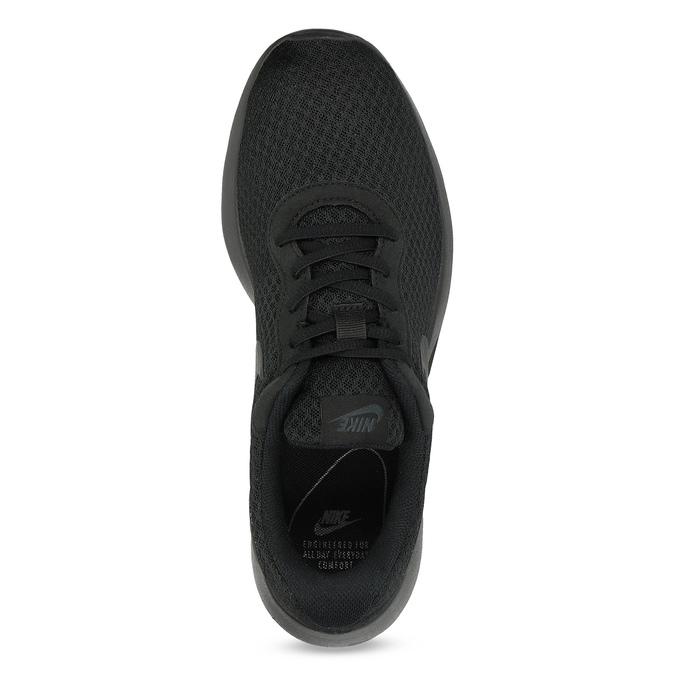 Czarne trampki męskie wsportowym stylu nike, czarny, 809-0557 - 17