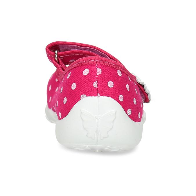 Kapcie wgroszki mini-b, różowy, 379-5214 - 15