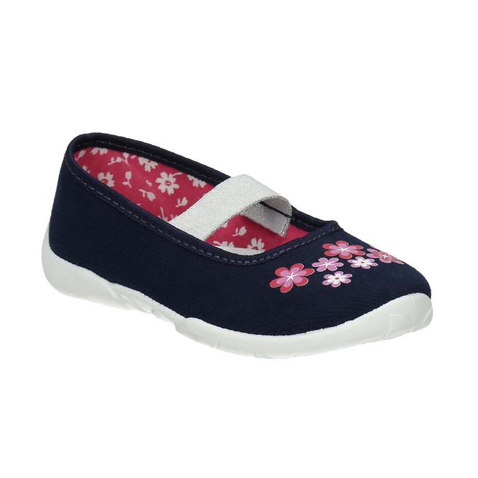 Kapcie wkwiatki mini-b, niebieski, 379-9215 - 13