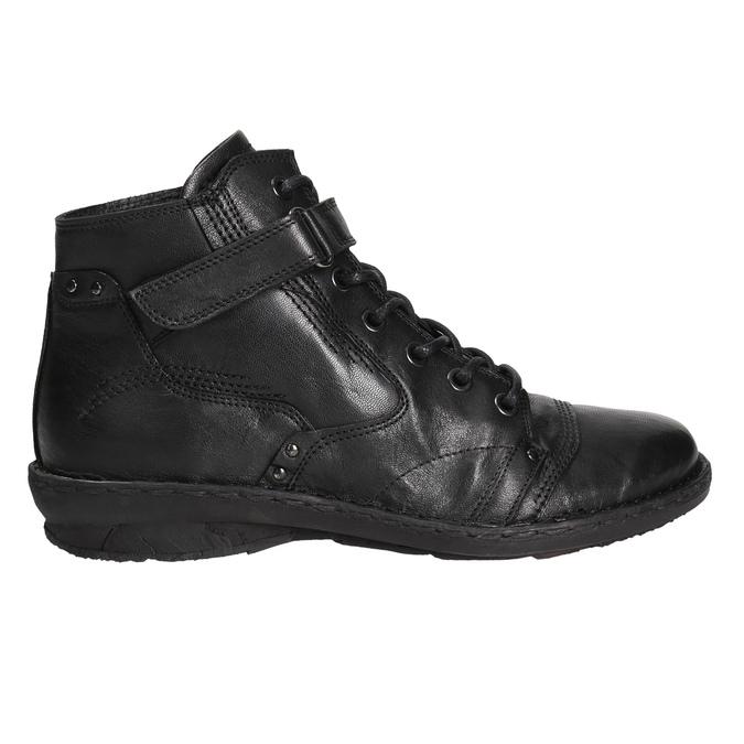 Botki damskie bata, czarny, 596-6656 - 15