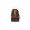 Brązowe skórzane półbuty zprzeszyciami rockport, brązowy, 826-4020 - 17