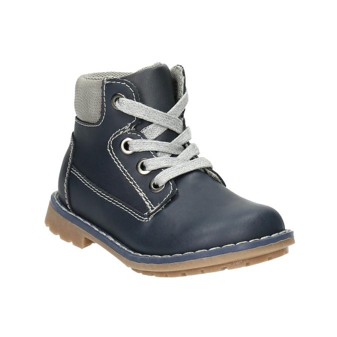 Skórzane obuwie dziecięce bubblegummer, niebieski, 114-9610 - 13